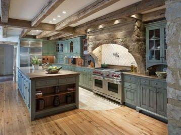 Contemporary italian rustic home décor ideas 25