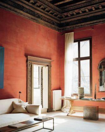 Contemporary italian rustic home décor ideas 33