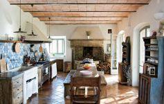 Contemporary italian rustic home décor ideas 36
