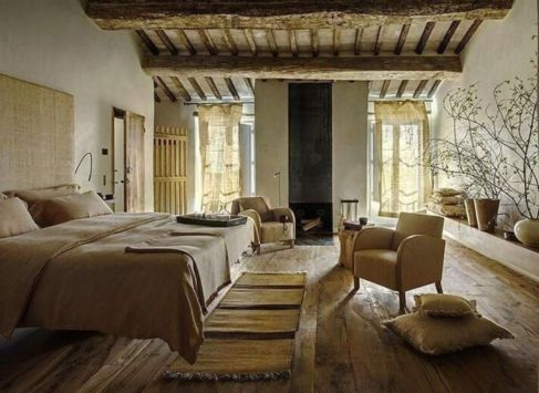 Contemporary italian rustic home décor ideas 42