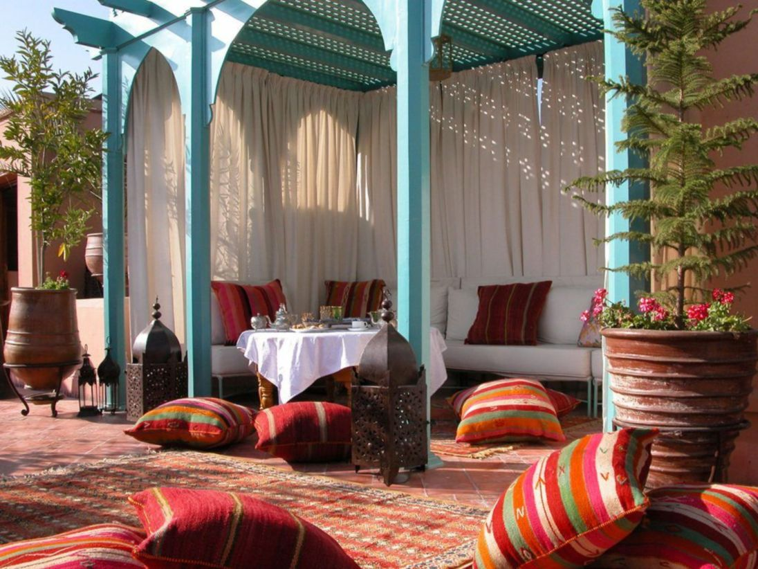Cozy moroccan patio decor and design ideas (18)