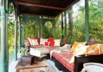 Cozy moroccan patio decor and design ideas (22)