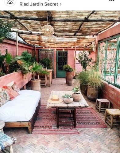 Cozy moroccan patio decor and design ideas (29)