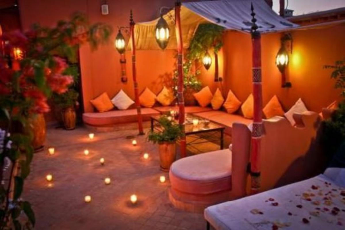 Cozy moroccan patio decor and design ideas (35)