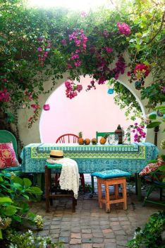 Cozy moroccan patio decor and design ideas (37)