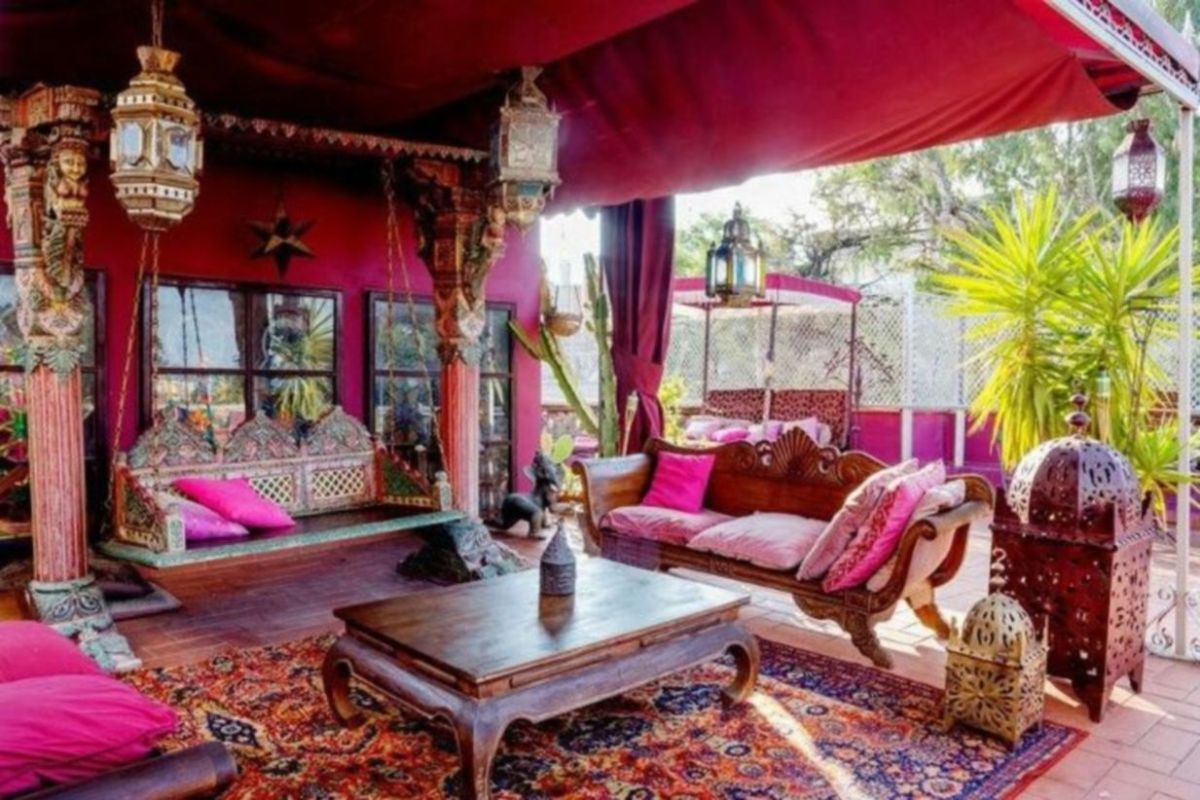 Cozy moroccan patio decor and design ideas (43)