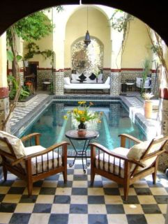 Cozy moroccan patio decor and design ideas (44)