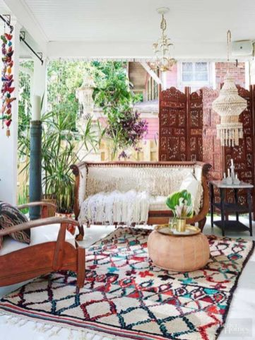 Cozy moroccan patio decor and design ideas (45)