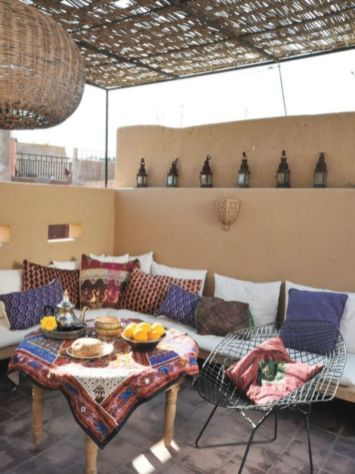 Cozy moroccan patio decor and design ideas (7)