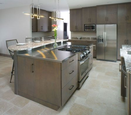 Creative kitchen islands stove top makeover ideas (1)