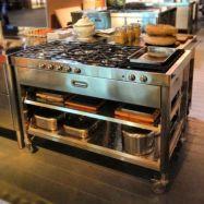 Creative kitchen islands stove top makeover ideas (18)