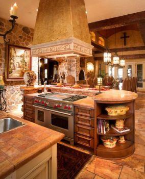 Creative kitchen islands stove top makeover ideas (36)