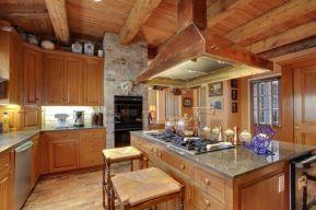 Creative kitchen islands stove top makeover ideas (37)