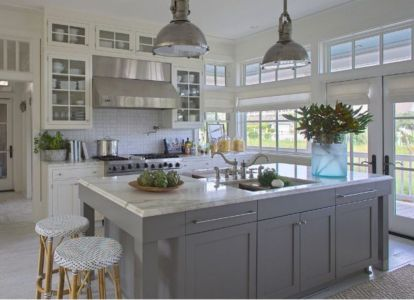 Creative kitchen islands stove top makeover ideas (42)