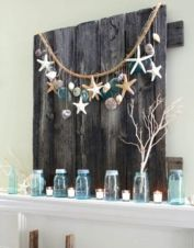 Easy diy rustic coastal decor that will beauty your home 07
