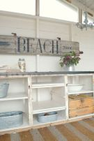 Easy diy rustic coastal decor that will beauty your home 33