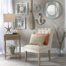 Easy diy rustic coastal decor that will beauty your home 35