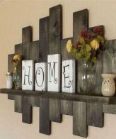 Elegant farmhouse decor ideas for your home (17)