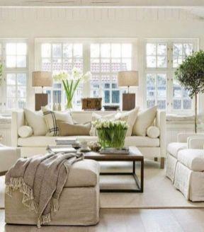 Elegant farmhouse living room design decor ideas (14)