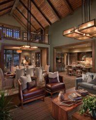 Elegant farmhouse living room design decor ideas (25)