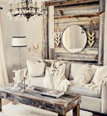 Elegant farmhouse living room design decor ideas (32)