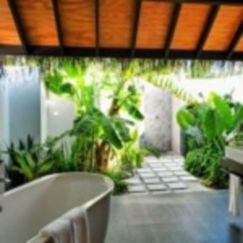 Excellent indoor spa decorating ideas 23