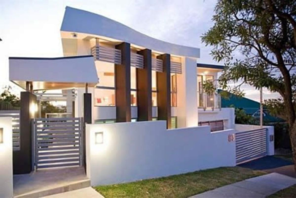 Exclusive and modern minimalist fence design ideas 14