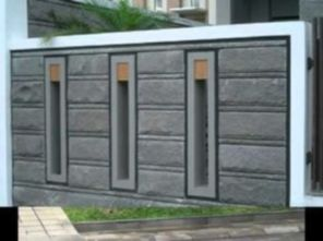 Exclusive and modern minimalist fence design ideas 40