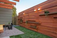 Exclusive and modern minimalist fence design ideas 46