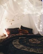 Inspired boho bedroom decorating ideas on a budget 12