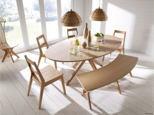Luxury scandinavian taste dining room ideas (15)
