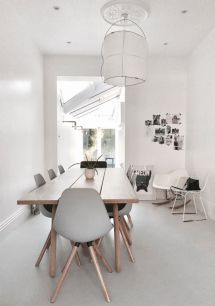 Luxury scandinavian taste dining room ideas (18)