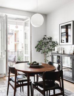 Luxury scandinavian taste dining room ideas (20)