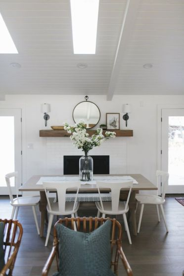 Luxury scandinavian taste dining room ideas (35)