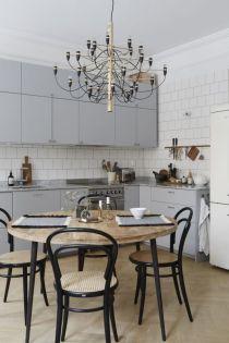 Luxury scandinavian taste dining room ideas (36)