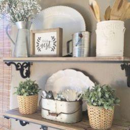 Simply and cozy farmhouse wall decor ideas (20)