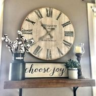 Simply and cozy farmhouse wall decor ideas (23)