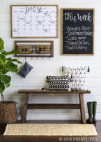Simply and cozy farmhouse wall decor ideas (4)