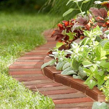 Awesome ways to creatively edge your garden 08