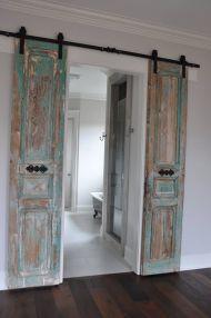 Best way using barn doors inside 08