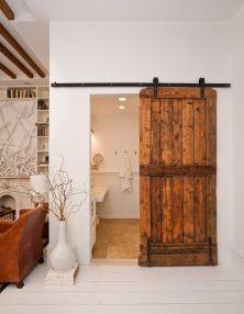 Best way using barn doors inside 09