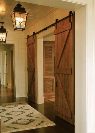 Best way using barn doors inside 14