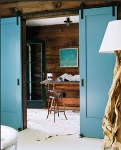 Best way using barn doors inside 24