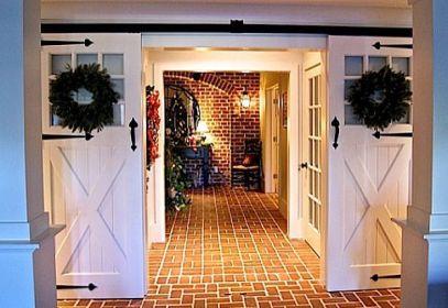 Best way using barn doors inside 41