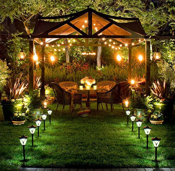 Catcht outdoor lighting ideas light garden style 23