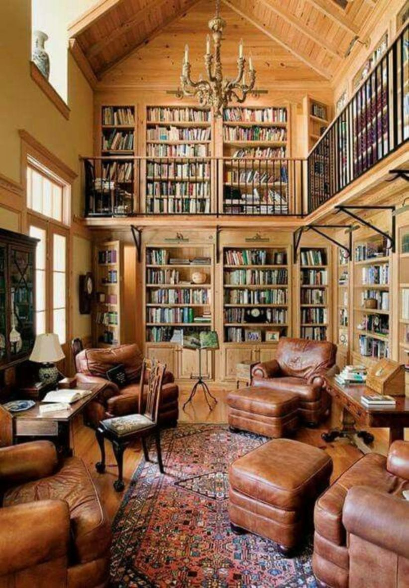 Delightful home libraries perfect book collection 09