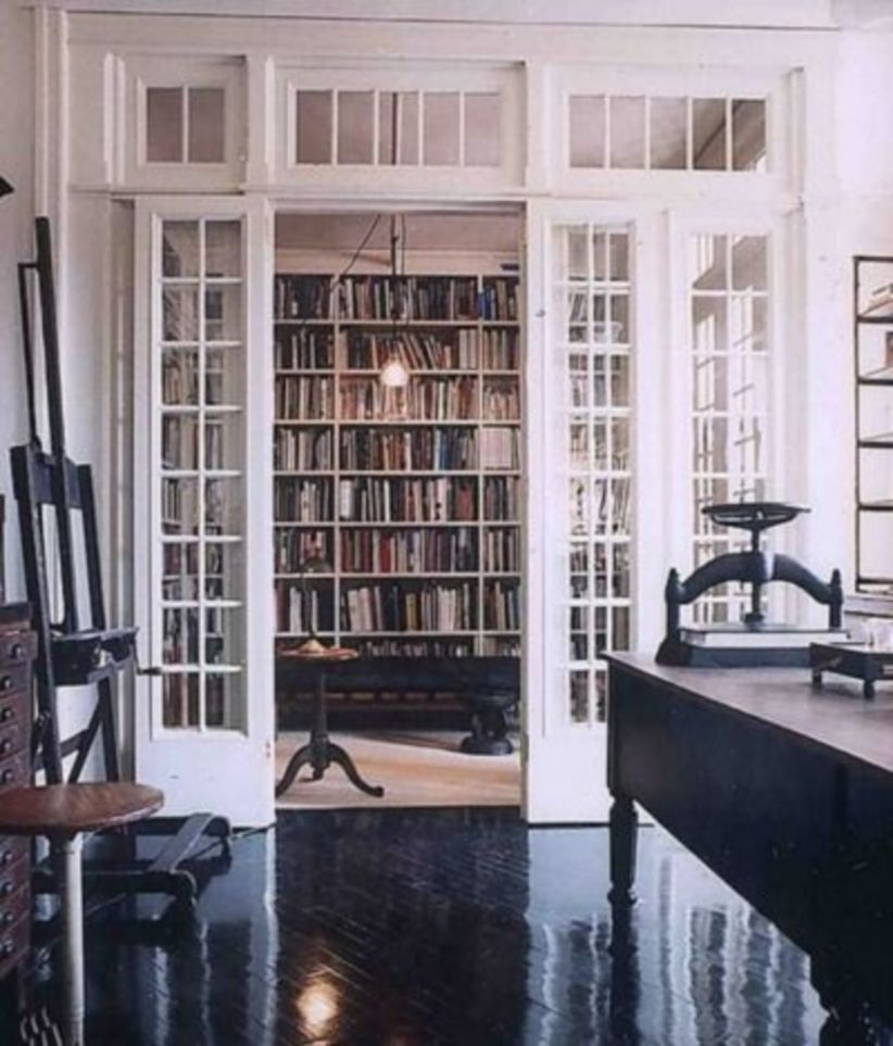 Delightful home libraries perfect book collection 38