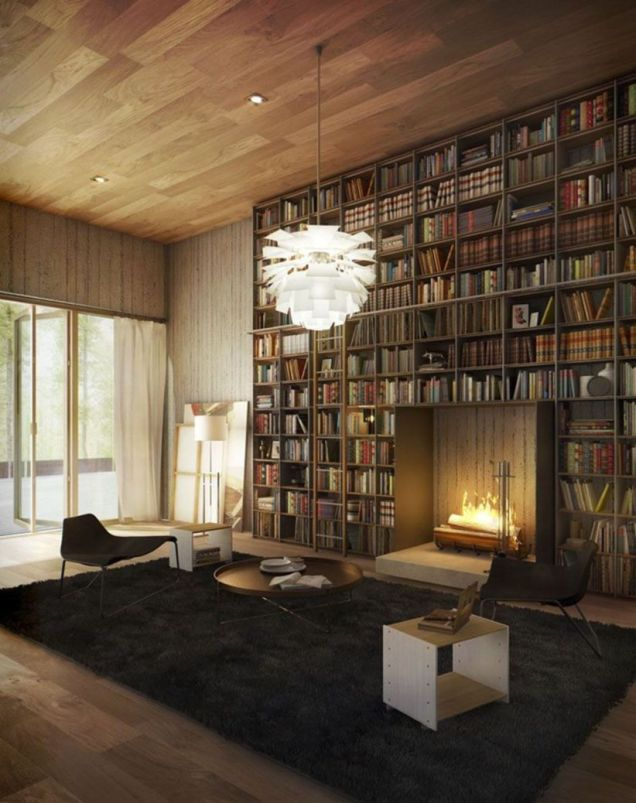 Delightful home libraries perfect book collection 46
