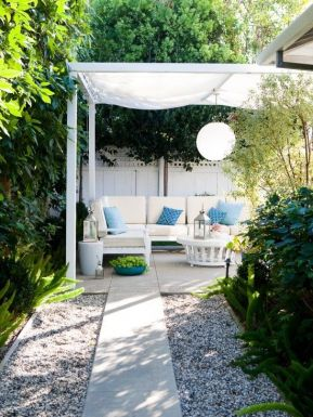 Easy and cheap outdoor spaces 14