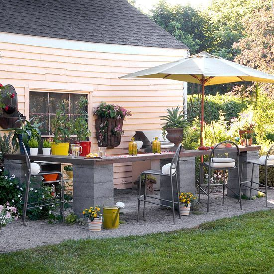 Easy and cheap outdoor spaces 29